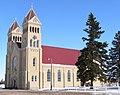 St. Bonaventure church (Raeville, Nebraska) from SW 2.JPG