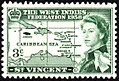 St. Vincent 3c West Indies Federation stamp 1958.jpg