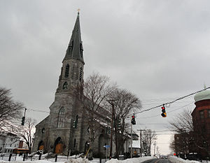English: St. Augustine Cathedral Bridgeport Pa...