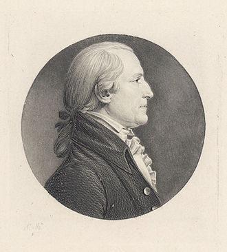 George Tucker (politician) - Saint-Mamin engraved portrait of Tucker's cousin, St. George Tucker, who provided pivotal help to Tucker