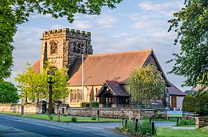 Appleton Thorn - Image: St Cross Church 1139338