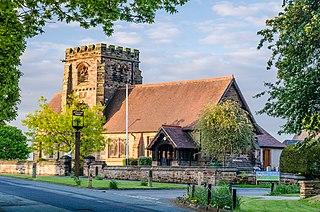 Appleton Thorn village in United Kingdom