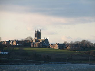 "St. George's School, Newport - The ""Hilltop"", viewed from Second Beach"