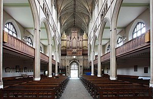 James Savage (architect) - The vaulted interior of St Luke's, Chelsea.