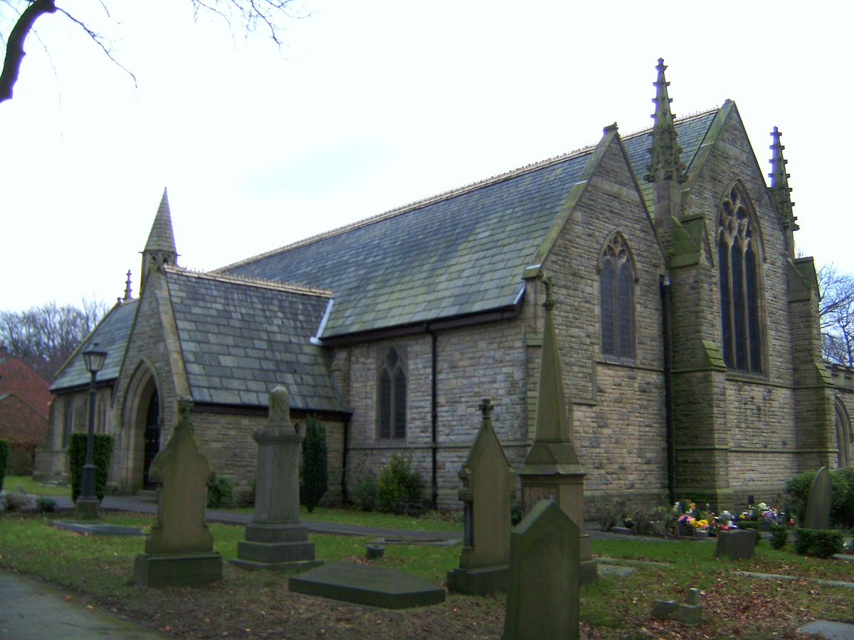 St Margaret's Church, Prestwich - Wikipedia