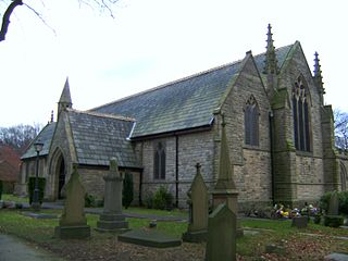 St Margarets Church, Prestwich Church in Greater Manchester, England