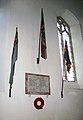 St Mary's church - war memorial - geograph.org.uk - 1593760.jpg
