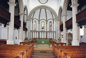 Charles Fowler - Interior of St Paul, Honiton