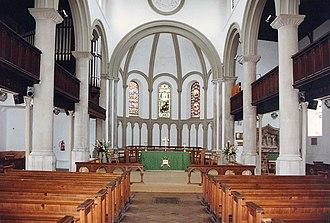 Charles Fowler - Interior of St Paul, Honiton