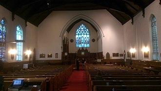 St. Peter & St. Paul's Anglican Church (Ottawa) - Image: St Peter and St Paul Anglican Church Ottawa Interior