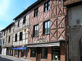 Old buildings in Saint-Rambert