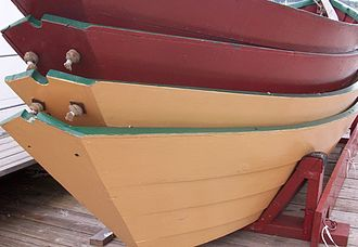 Dory - Stack of dories at Lunenburg