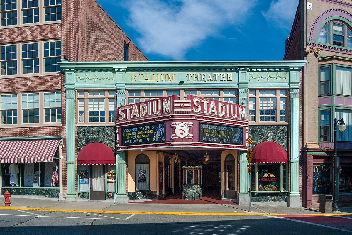 The Stadium Theater In Woonsocket Rhode Island
