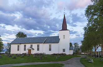 Stadsbygd Church - View of the church
