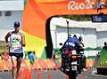 Staff Sgt. John Nunn race walks 50 kilometers at Rio Olympic Games (28807855140).jpg