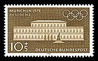 Stamps of Germany (BRD), Olympiade 1972, Ausgabe 1970, 10 Pf.jpg