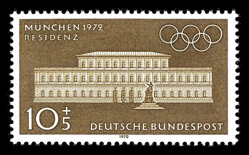 Datei:Stamps of Germany (BRD), Olympiade 1972, Ausgabe 1970, 10 Pf.jpg