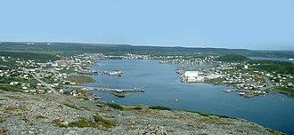 St. Anthony, Newfoundland and Labrador - Image: Stanthony 071904