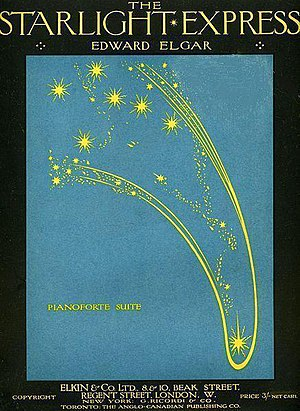 The Starlight Express - The Starlight Express: cover from 1916