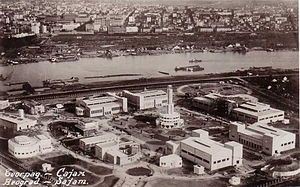 Sajmište concentration camp - The Belgrade Fair before World War II