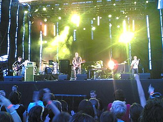 Starsailor (band) - Starsailor live at Summercase Festival, Madrid