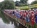 Start Mistrzostw Polski w Triathlonie w lipcu 2009 roku.jpg