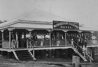 Mudgeeraba, Queensland - Mudgeeraba Exchange Hotel, 1915