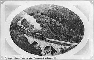 Southern railway line - Sydney Mail circa 1910