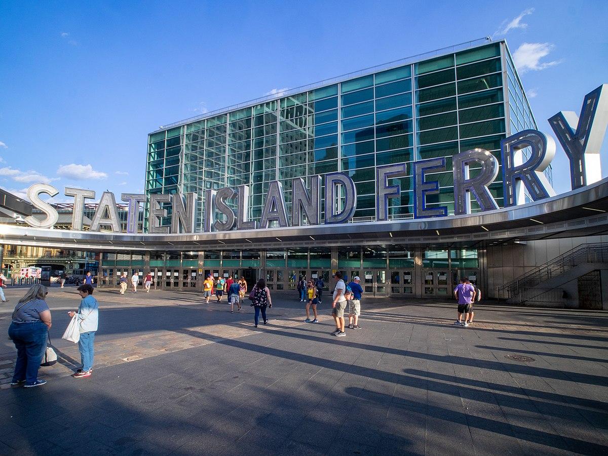 Staten Island Ferry Whitehall Terminal - Wikipedia