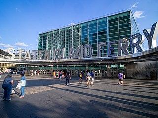Staten Island Ferry Whitehall Terminal Ferry terminal in Lower Manhattan, New York
