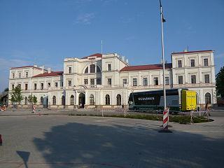 Liepāja Station railway station