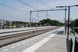 Maarheeze railway station - Image: Station Maarheeze