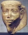 Statue Head of God Sopdu - 12th Dynasty - ÄS 7106.jpg