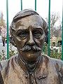 Statue of László Teleki by Attila Meszaros, 2016 Józsefváros.jpg