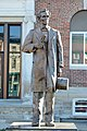 Statue of Lincoln, Marshall, IL, US (03).jpg