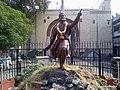 Statue of Shivaji Maharaj at Mahal, Nagpur - panoramio.jpg