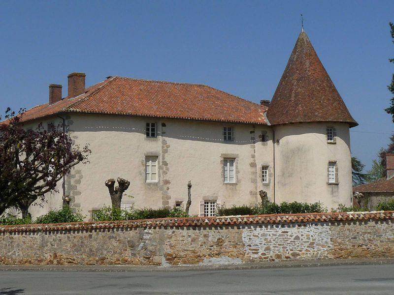 Logis de St-Christophe, Charente, France