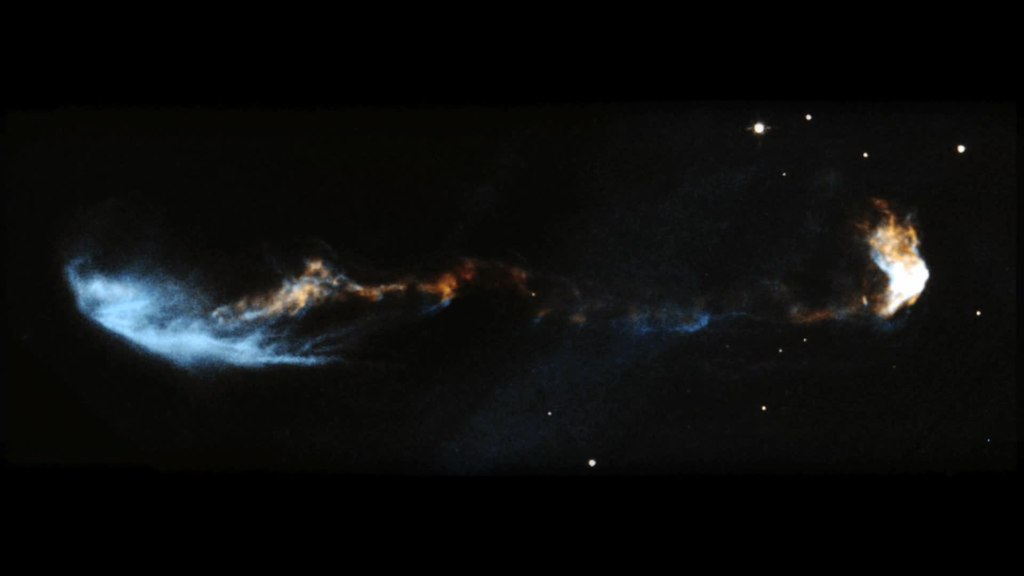 File:Stellar jet HH 47 (captured by the Hubble Space ...