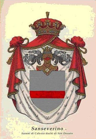 House of Sanseverino - Coat of arms of the family