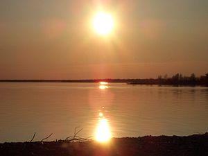 Stephens Lake (Manitoba) - Stephens Lake from Manitoba Road 280
