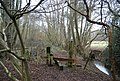 Stile in Horeman's Wood by the River Line - geograph.org.uk - 1724139.jpg