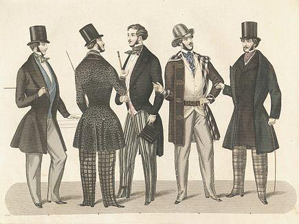 Stockholms mode-journal- Tidskrift f%C3%B6r den eleganta werlden 1847, illustration nr 2