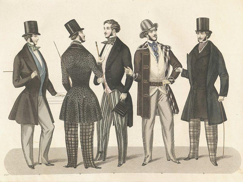 File:Stockholms mode-journal- Tidskrift för den eleganta werlden 1847, illustration nr 2.jpg