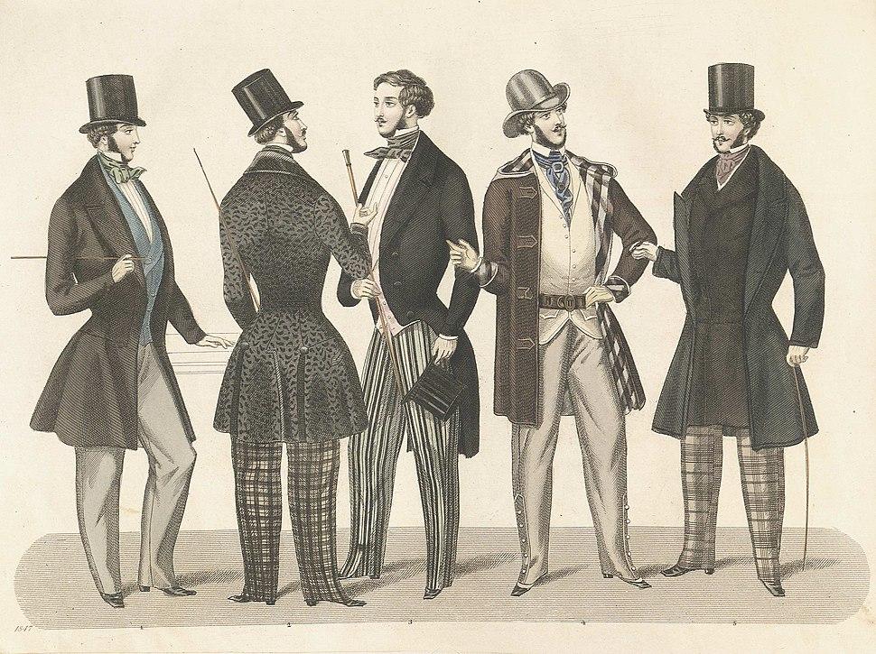 Stockholms mode-journal- Tidskrift för den eleganta werlden 1847, illustration nr 2