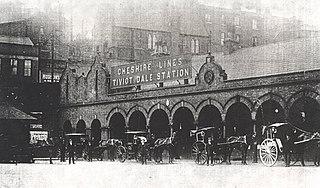 Stockport Tiviot Dale railway station