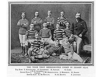 Stoke City F.C. - The Stoke team of 1877–78.