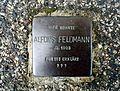 Stolperstein Alfons Feldmann, Neußer Straße 4, Bornheim.jpg