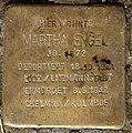 Stolperstein Bundesplatz 2 (Wilmd) Martha Engel.jpg