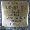 Stolperstein Düren Hohenzollernstraße 13 Hans Hermann Leven.JPG