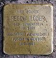 Stolperstein Donaustr 115 (Neukö) Regina Löder.jpg